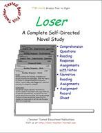 Loser Novel Study Guide