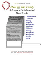 Owls In The Family Novel Study Guide