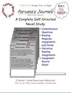 Parvana's Journey Novel Study Guide