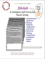 Shiloh Novel Study Guide