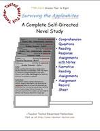 Surviving The Applewhites Novel Study Guide