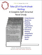 Tales of A Fourth Grade Nothing Novel Study Guide