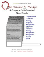 The Catcher In The Rye Novel Study Guide