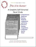 The Kite Runner Novel Study Guide