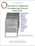 The Master Puppeteer Novel Study Guide