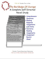 The Red Badge Of Courage Novel Study Guide