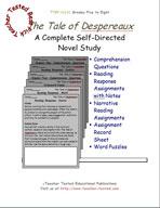 The Tale of Despereaux Novel Study Guide