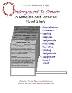 Underground To Canada Novel Study Guide