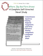 Where The Red Fern Grows Novel Study Guide