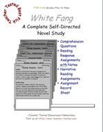 White Fang Novel Study Guide