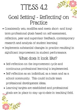 TTESS 4.2 Goal Setting
