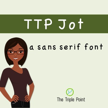 TTP Jot - sans serif font for personal and commercial use