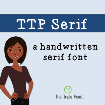 TTP Serif - serif font for personal and commercial use