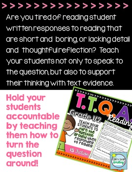 TTQA Making Inferences & Finding Evidence Passages with Guided Written Responses