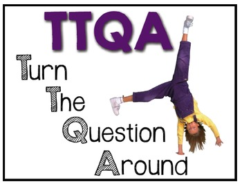 TTQA (Turn The Question Around) Posters