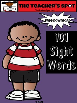 TTS 101 Sight Words List #1  - Word Wall and Word Play