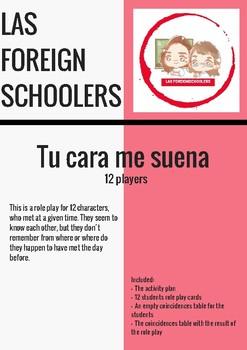 TU CARA ME SUENA  (12 students)