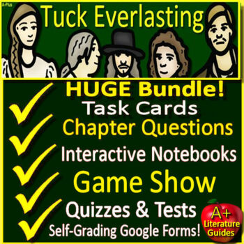 Tuck Everlasting Google Novel Study Unit Use With OR Without Google Drive