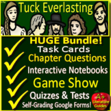 Tuck Everlasting Novel Study Unit: Printable AND Paperless with Self-Grading