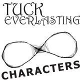 TUCK EVERLASTING Characters Analyzer (by Natalie Babbitt)
