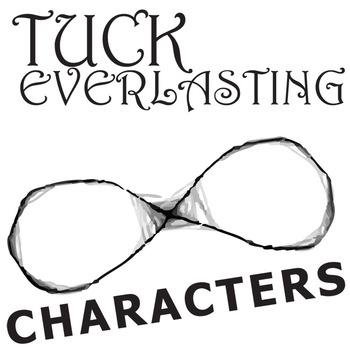 TUCK EVERLASTING Characters Organizer (by Natalie Babbitt)
