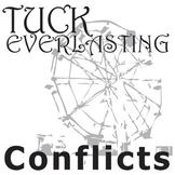 TUCK EVERLASTING Conflict Graphic Organizer - 6 Types of Conflict