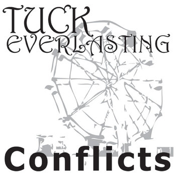 TUCK EVERLASTING Conflict Graphic Organizer - 6 Types of Conflict