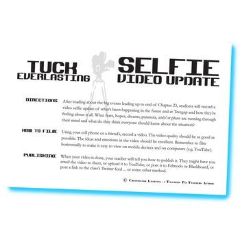 TUCK EVERLASTING Selfie Video Update Activity