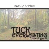 TUCK EVERLASTING Unit - Novel Study Bundle - Literature Guide