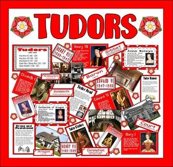 TUDORS TEACHING RESOURCES, HISTORY KEY STAGE 2 HENRY VIII ELIZABETH I LIFE