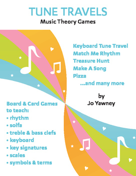 TUNE TRAVELS Music Theory Games -