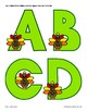 TURKEY Alphabet for Bulletin Board, Banners and More! Thanksgiving and Fall