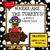 TURKEY BOOK & PACKET language AAC PECS