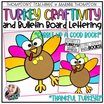 TURKEY CRAFT and Bulletin Board