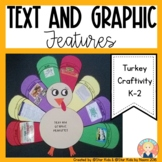 TURKEY CRAFTIVITY {TEXT AND GRAPHIC FEATURES}