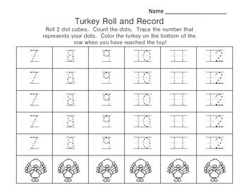 TURKEY ROLL AND RECORD