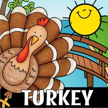 TURKEY SIGHT WORD COLOR(flash freebie)