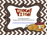 TURKEY TIME- Elapsed Time Thanksgiving Dinner Task Cards