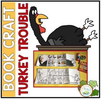 TURKEY TROUBLE BOOK CRAFT