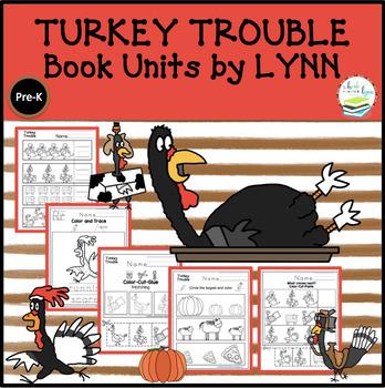 TURKEY TROUBLE BOOK UNIT