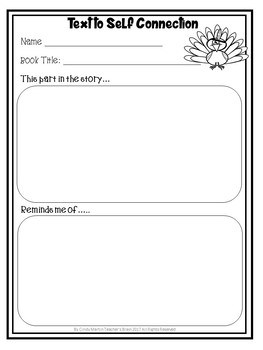 TURKEY TROUBLE Activities Lesson Plan on Summarizing and Sequencing