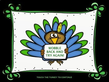 Turkey Tunes - A Form Recognition Activity