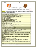 TURKEYS: A T/F QUIZ WITH INTERESTING FACTS! GRS. 5-12, STAFF