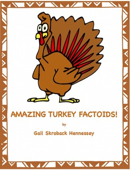 TURKEYS! AMAZING TURKEY FACTS! FREEBIE(Interactive Notebook Activity)