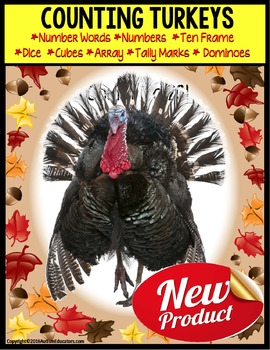 TURKEYS – Counting Up To 20 with Data and IEP Goals for Sp