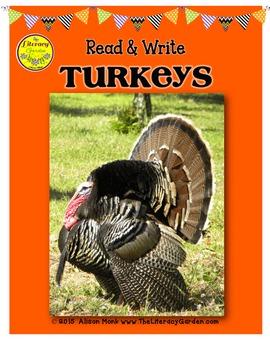 TURKEYS {Informational Reading & Writing}