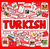TURKISH LANGUAGE  RESOURCES GEOGRAPHY DISPLAY EAL EUROPE ASIA TURKEY