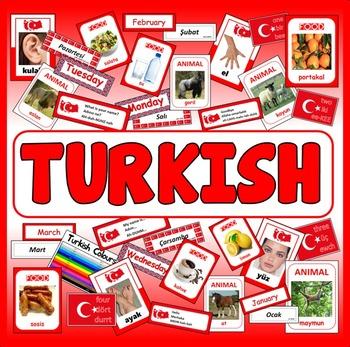 TURKISH LANGUAGE  RESOURCES GEOGRAPHY DISPLAY EAL EUROPE ASIA TURKEY
