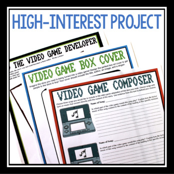 SHORT STORY NOVEL ASSIGNMENT: VIDEO GAME PROJECT
