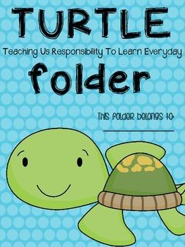 T.U.R.T.L.E. Folder  Parent Communication Tool